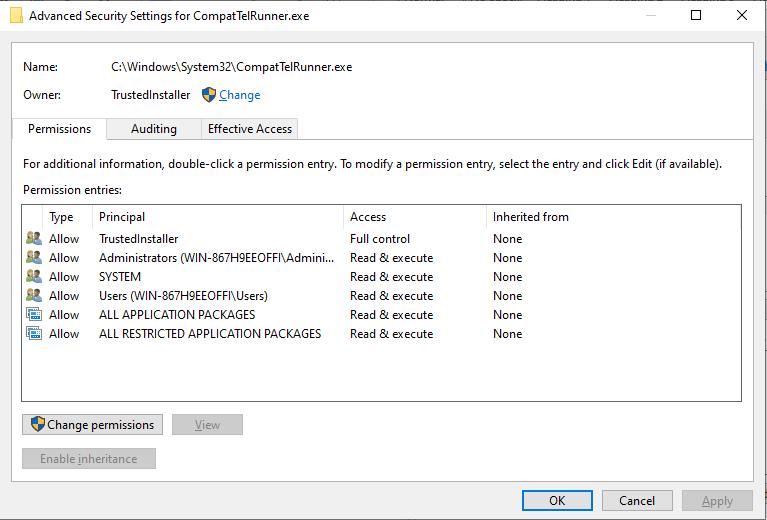delete microsoft compatibility telemetry